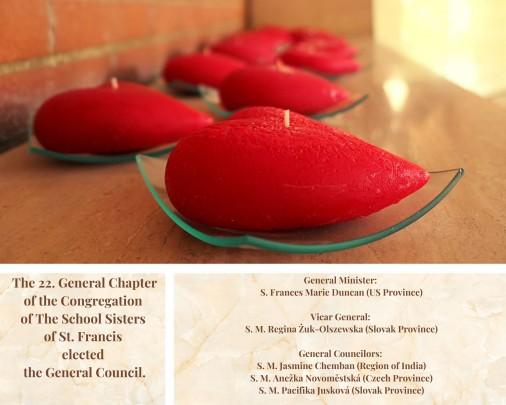 Capitolo Generale - Il nuovo consiglio generale